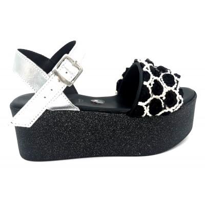 Sandalo con Zeppa Pari con...