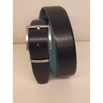 Cintura Piquadro - Blu -...